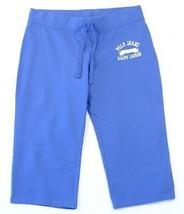 Polo Jeans Co. Ralph Lauren Blue 3/4 Length Cropped Pants Capri Women's  NWT - $41.24