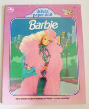 Barbie Deluxe Paper Doll ~ 1991 ~ Golden Books #1695 ~ NEW & Uncut - $13.53