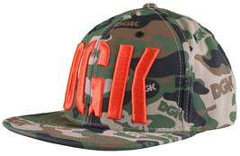 DGK Dirty Ghetto Kids Green Camouflage Assault Snapback Baseball Hat NWT image 2