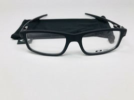New Oakley OX8035-0152 Black Satin Trailmix Eyeglasses 52mm with Oakley ... - $87.62