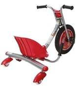Razor Tricycle Red Bike Caster Wheels Spark Bar Cartridge Kid Ride On To... - $138.55
