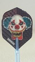 Winmau Killer Clown Embossed Standard Dart Flights - $1.22