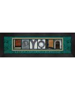 Loyola University Maryland Officially Licensed Framed Campus Letter Art - $39.95