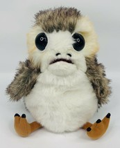 Star Wars Action Plush Porg by Se7en20 with authentic voice Disney WORKS - $9.75