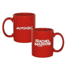 The Rachel Maddow Show Logo Ceramic Mug, Red 11 oz - Official Mug As See... - $18.61