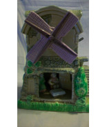 DECORATIVE WIND MILL MUSIC BOX PLAYS LOVE IS A MANY SPLENDORED THING - $29.70