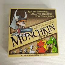 Steve Jackson Munchkin Deluxe Card Game Complete - $29.65