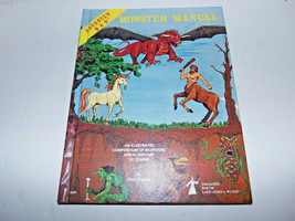 RARE Vintage 1979 Advanced D&D Dungeons and Dragons 4th Ed Monster Manual Gygax - $188.05