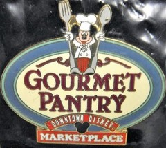 Disney Occupations Chef Mickey Mouse at the Downtown Disney Gourmet Pant... - $11.75