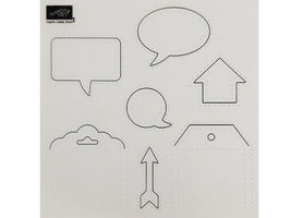 Stampin' Up! Eclectic Paper Piercing Pack, Set of 3 #133778 image 4