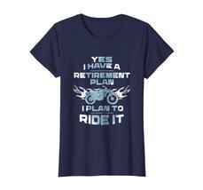 Brother Shirts - Motorcycle Retirement Plan To Ride It T-Shirt Rider Biker Wowen image 4