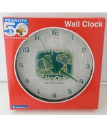 New Peanuts 50th Celebration WALL CLOCK Virtual Snoopy - $28.98