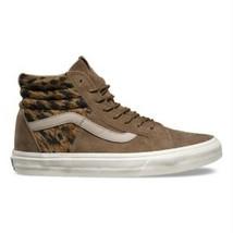 Vans Sk8 Hi 46 + (italian Weave Pig Suede) Teak Brown Skate Womens Size 7.5 - €55,32 EUR