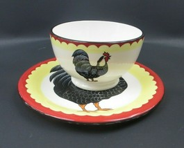 Certified International Cereal / Soup Rooster Bowl And Salad / Dessert Plate - $22.01