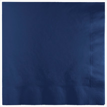 3 Ply Lunch Napkins Navy/Case of 500 - £31.45 GBP
