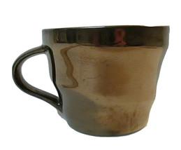 Starbucks 2013 Bronze Copper Metallic 12 ounce coffee mug  Cup Chromatic... - $10.00