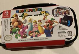 Nintendo Switch Super Mario Game Traveler Deluxe Travel Case- Brand New - $19.39