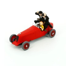 Tintin red racing car Voiture Tintin Cars Atlas 1/43