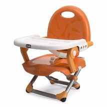 Foldable Baby Feeding Chair Chicco Portable Toddler Snack Booster Infant... - $35.85