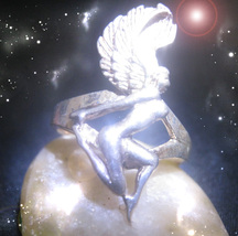 HAUNTED RING THE DIVINE BODY TRANSFORMATION RARE SECRET EXTREME OOAK MAGICK - $4,518.89