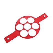 Fantastic Silicone Nonstick Flippin' Pancake Maker Egg Ring Maker Kitchen - $10.89