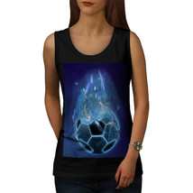 Devil Sport Football Tee Fire Burn Women Tank Top - $12.99