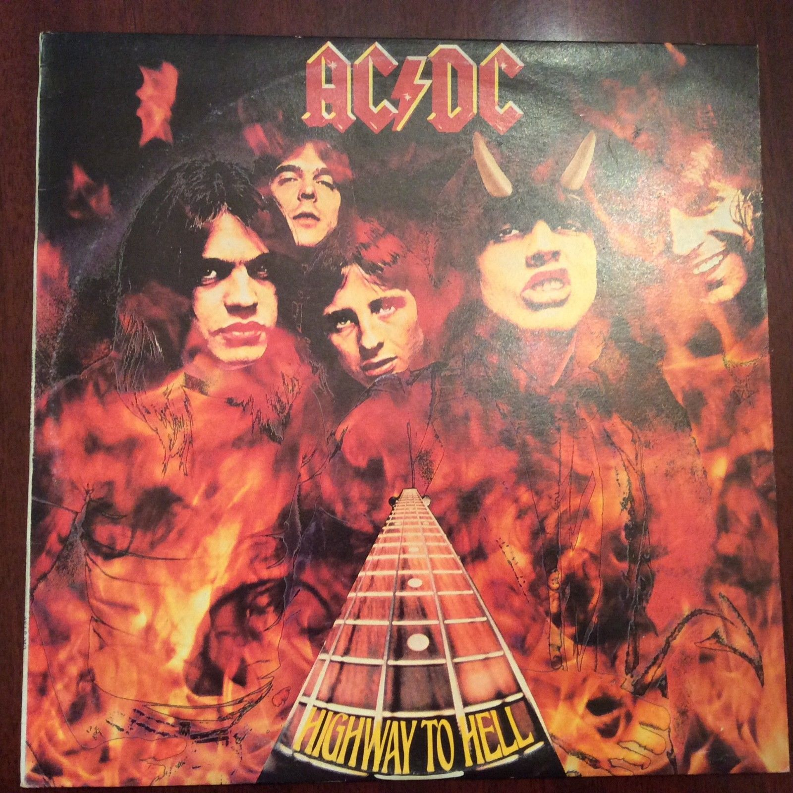 AC/DC Highway To Hell 1979 Albert #APLP040 Australian ...