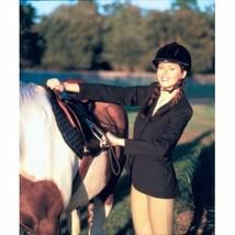 Devon Aire Ladies Hunt Coat Stretch Black 8 Regular image 2