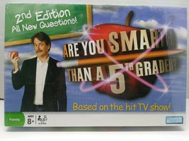 Hasbro are You Smarter Than A 5th Grader ? Second Edition Board Game Age... - $27.27