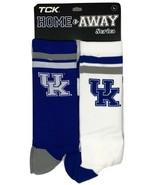 Kentucky Wildcats 2 Pack Home & Away Crew Cut Socks - Large - $16.95