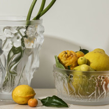Lalique Bacchantes Bowl Clear Crystal 10547900 New - $2,376.00