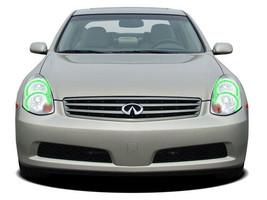for Infiniti G35 05-06 Green LED Halo kit for Headlights - $130.98