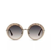 NIB Jimmy Choo Women's Gotha/S 681/9C Nude Bronze Fashion Round Sunglass... - $182.33