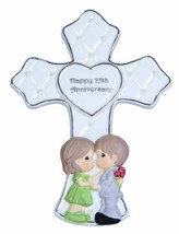 Precious Moments,  Through The Years – 25th Anniversary, Bisque Porcelai... - $17.95