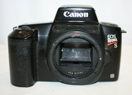Canon EOS Rebel S II Film Camera 35mm  No Lens or Strap Black Body Only - $24.74