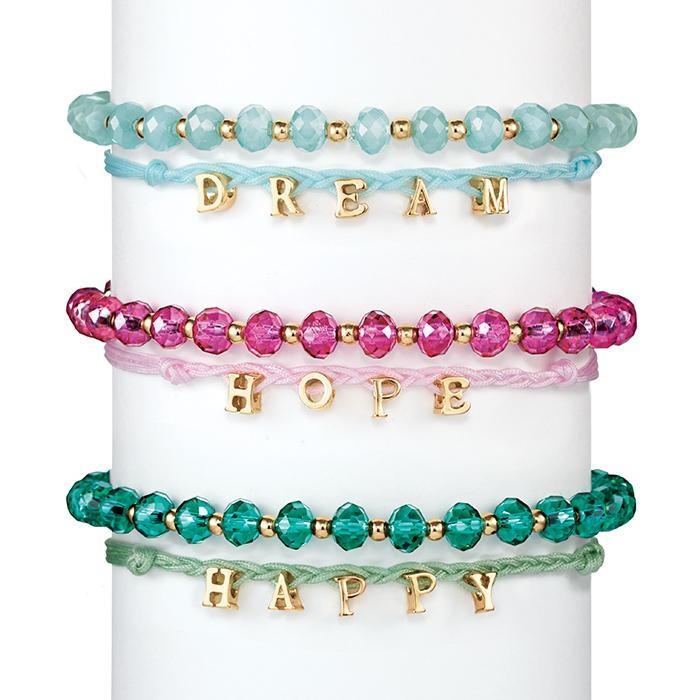"Avon Katarina Sentiment Bracelet ""Happy"""