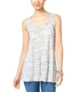 Style & Co. Women's Grey Heather Pullover Sleeveless Tank Top Size Small... - $7.61