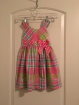 Bonnie Jean Girls Sleeveless Dress Sz 5 MultiColor - $86.40
