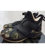 "Nike Lebron Soldier XII 12 SFG ""Camo"" Black Basketball Shoes AO4054-001 ... - $138.59"