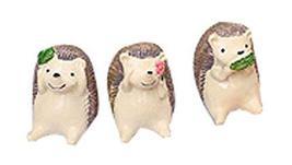 PANDA SUPERSTORE Set of 3 Creative Animal Decoration Zoo Toys Kids,1.6''