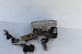 04 Accord v6 ATX ECU ECM Ignition Switch w/Immo Glove Trunk Door Lock & 3 Keys image 6