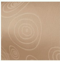GARNIER THIEBAUT, Set Of 4, Round Around Cappuccino Cloth FRENCH Napkins... - $51.28