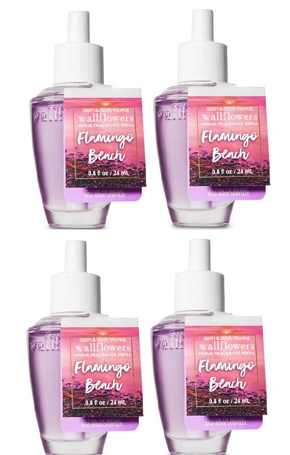 Primary image for Bath & Body Works Flamingo Wallflower Home Fragrance Refill Bulbs - 4 Pack