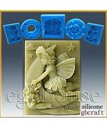 Food Grade Silicone Chocolate/fondant Mold -- Luna- Fairy of the Moon - $34.65