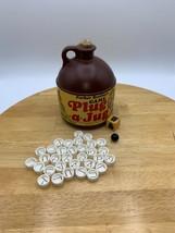 Vintage PLUG A JUG Spelling Game 1969 Parker Brothers Brown Jug Cork USA... - £10.90 GBP
