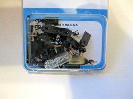 Micro-Trains Stock #00110004 Passenger Car Couplers Black For 1017 & 1018 Truck image 1
