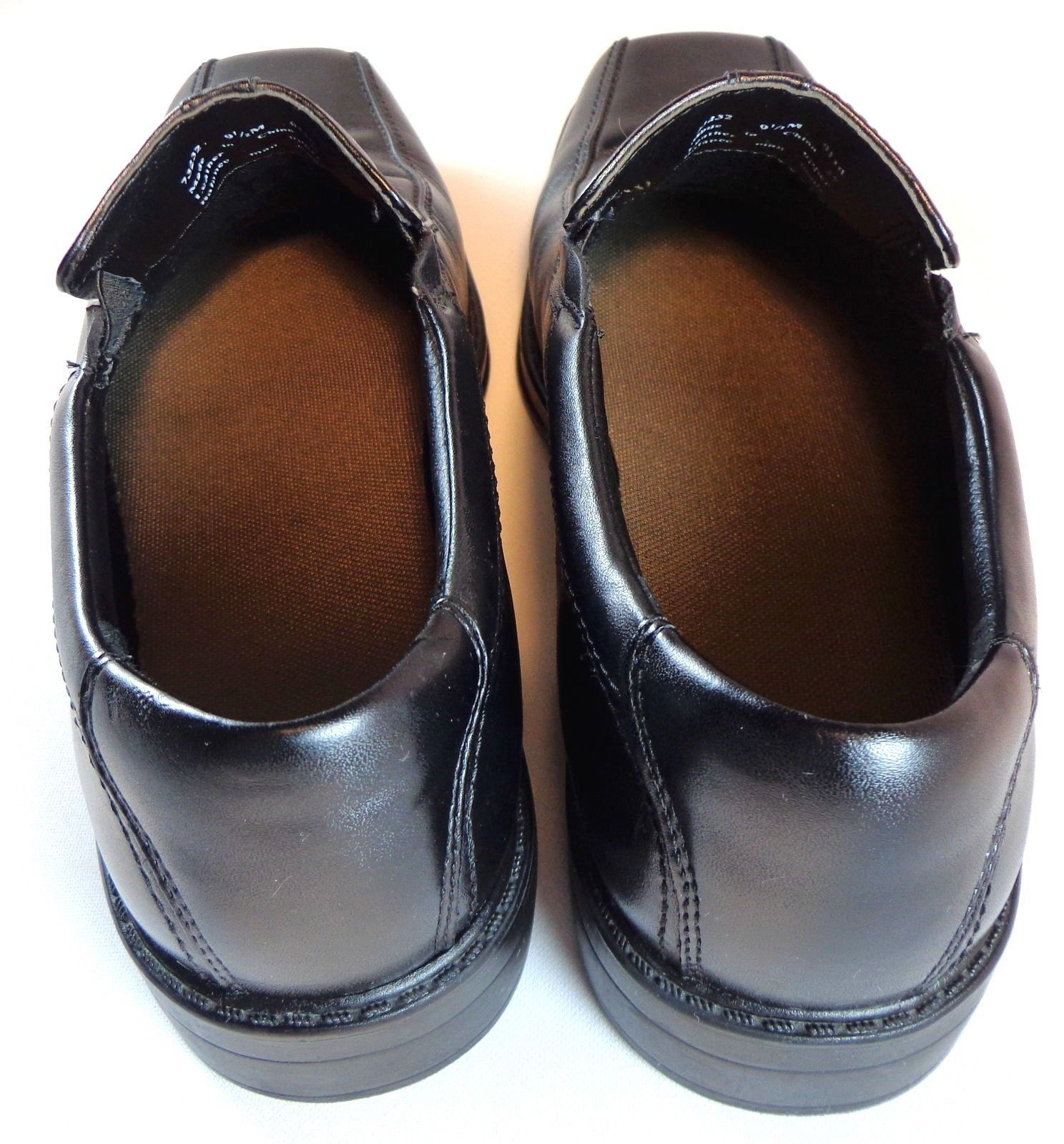 Clarks Mens Black Leather Loafers Size 9.5 M and 50 similar