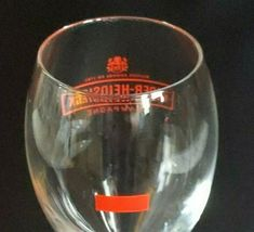 6 (Six) PIPER-HEIDSIECK RED LOGO Maison Fonde'e  1785 Crystal Champagne Flutes image 3