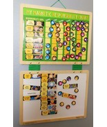 "Melissa and Doug Magnetic Responsibility Chart Hanging 15 x 26"" Wood - $23.40"