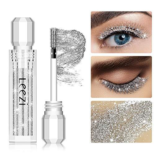Glitter 4D Lash Mascara, Waterproof and Long Lasting, Thickening and Lengthening
